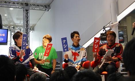 フィッシングショーOSAKA2014大盛り上がり‼