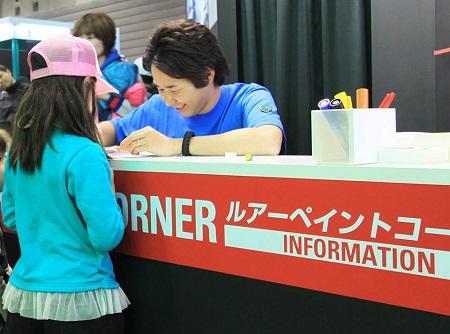 横浜/大阪会場でルアーペイントコーナーを設置致します。