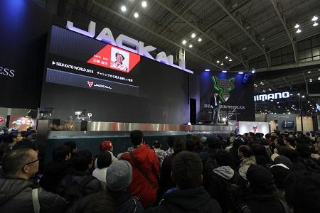 """""""ジャパンフィッシングショー2016"""" 最終日がスタート致しました。"""
