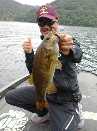絶好調の野尻湖でカバークローが活躍!