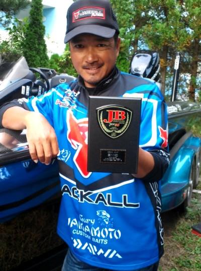 川口直人プロJBTOP50最終戦、旧吉野川で11位に入賞。