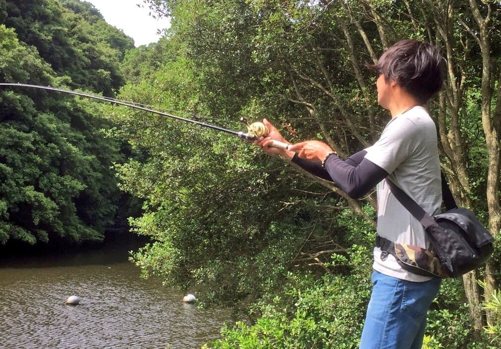 琵琶湖ガイド柴田の野池釣行