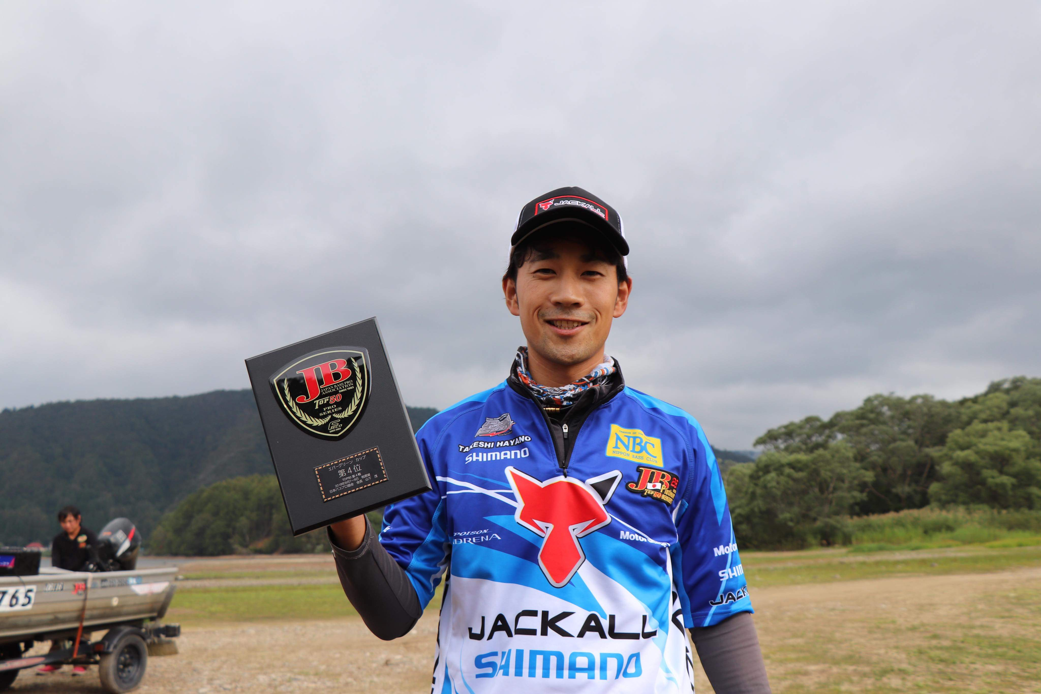 JB TOP50福島県・桧原湖戦(早野剛史)
