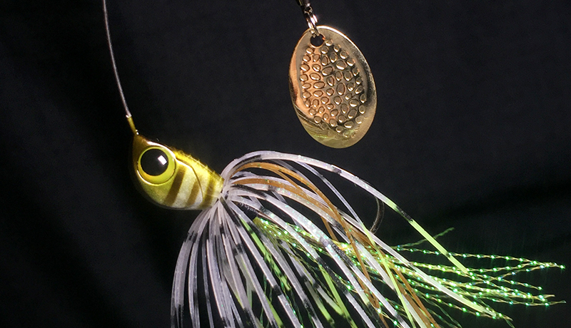 抜群の実釣性能を誇るDERASPINに2019年新色が加わります