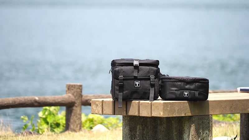 スタイルに合わせたシステムを。フィールドバッグが2タイプ完成