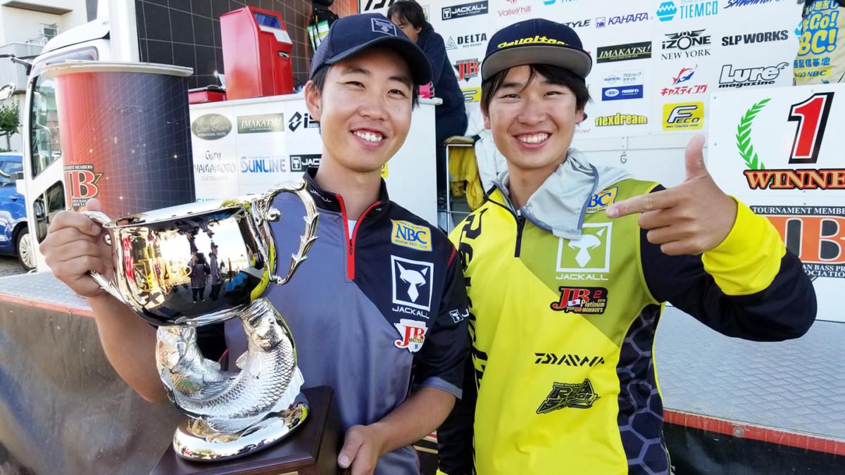 JBマスターズ第3戦にて藤田夏輝プロ優勝、郡司潤プロ5位入賞