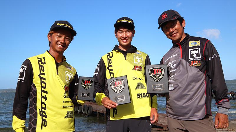JB TOP50霞ヶ浦戦最終結果/藤田京弥プロ準優勝、小野俊郎プロ3位でフィニッシュ!