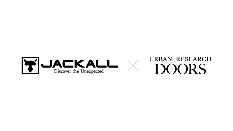 JACKALL×URBAN RESEARCH DOORS コラボアイテム発表
