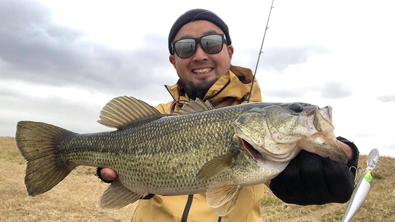 厳寒期のONとOFFを釣り分ける岸釣り戦略