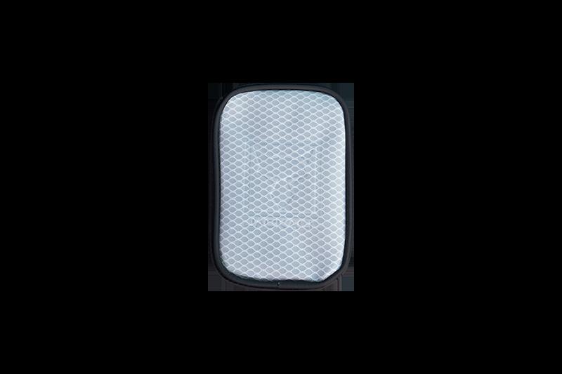 マルチポーチ ホワイト/ブラック Sサイズ