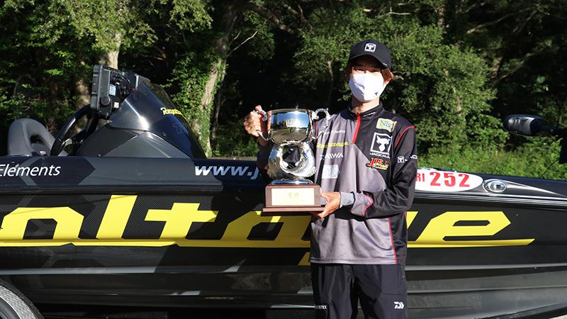 JB TOP50桧原湖戦結果/藤田京弥プロ優勝。年間ランキング首位も死守!