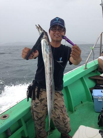 シーズン先取り、大阪湾でアンチョビミサイル‼