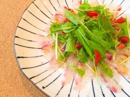 真鯛のウマウマ料理♪