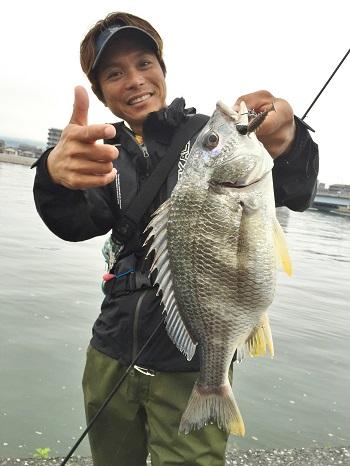ちびチヌムシ1,5″で広島某河川を攻略‼