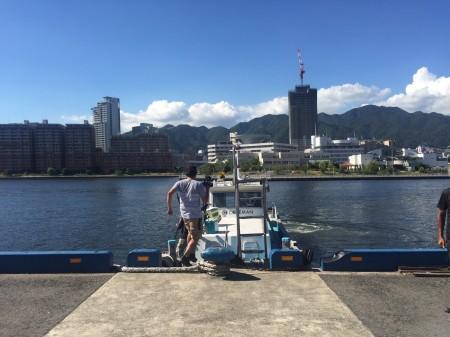 神戸沖堤防×陸式アンチョビミサイルJr.