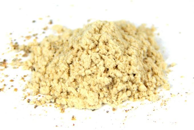 カキとエビの粉末を粉末化したフレーバー