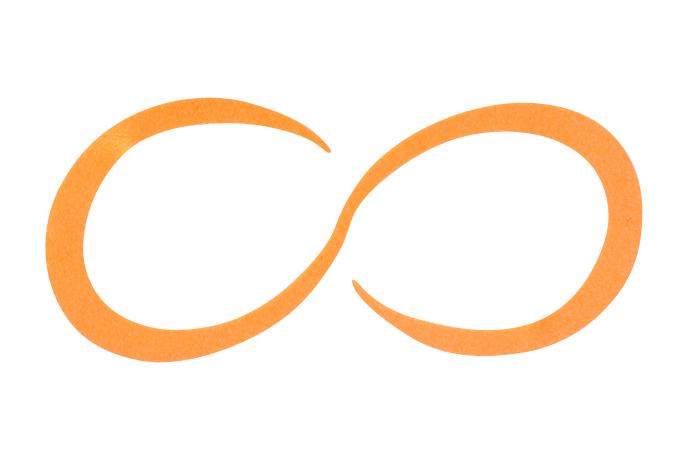艶色オレンジ