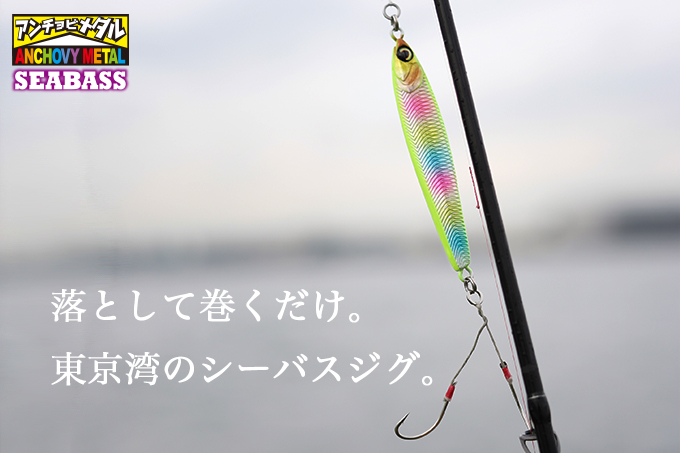 【2019 NEW COLOR】SEABASS ANCHOVY METAL / シーバスアンチョビメタル