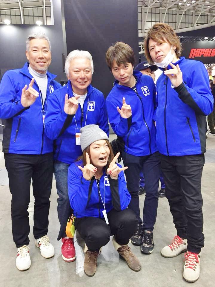次は大阪フィッシングショーで!