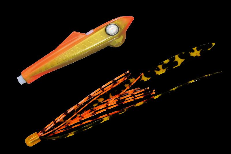 オレンジゴールド/シマオレT+