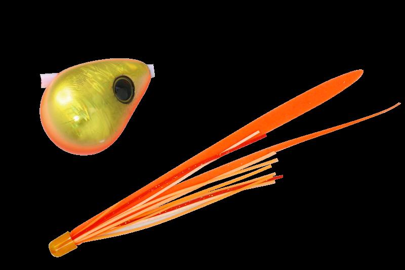 オレンジゴールド/蛍光オレンジT+