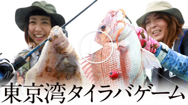 【鯛ラバ】 東京湾タイラバゲーム / 田中亜衣 石川文菜