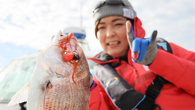【田中亜衣の鯛ラバアカデミー Vol.1】タックルセレクトはこれでOK(近海 内海&湾 編)