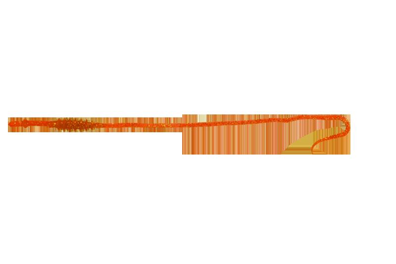 ORANGE GOLD FLAKE / オレンジゴールドフレーク
