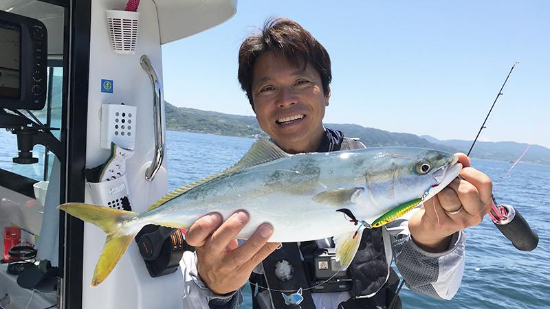 F×Fで楽しむ大阪湾のスーパーライトジギング