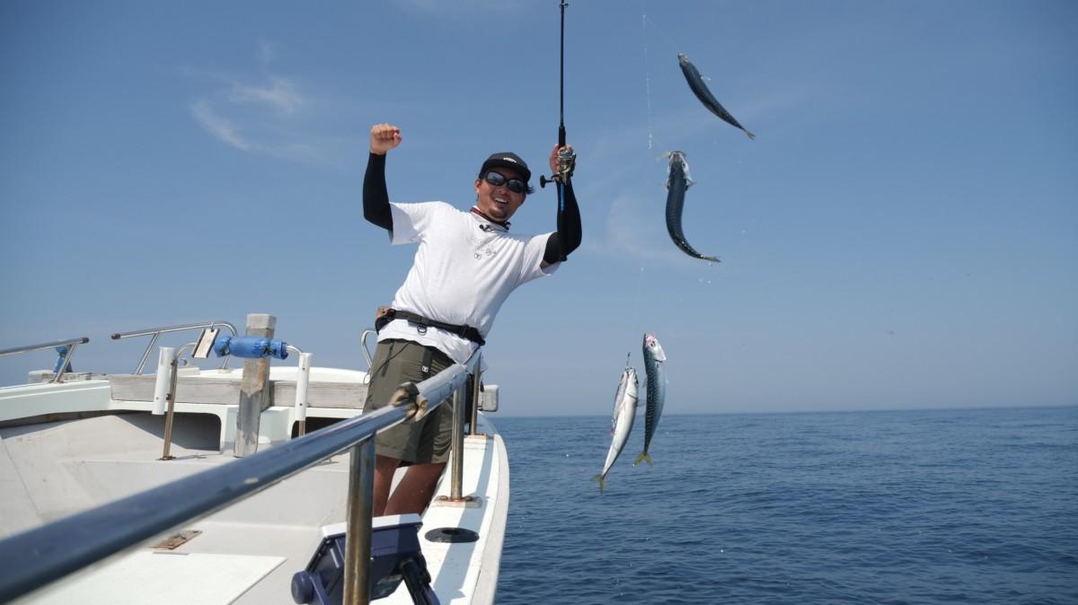 釣れる楽しさを、より簡単に。ジグサビキという提案
