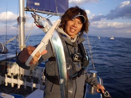 愛媛県 アンチョビシリーズで太刀魚ゲームへ‼