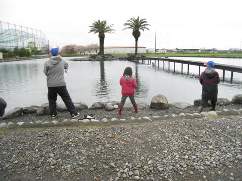 モニター 小林 紀之 氏より 静岡県/フィッシングリゾートジュネス 家族とプチ釣行