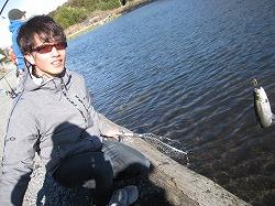 2015年初釣り 栃木県のキングフィッシャーさんへ